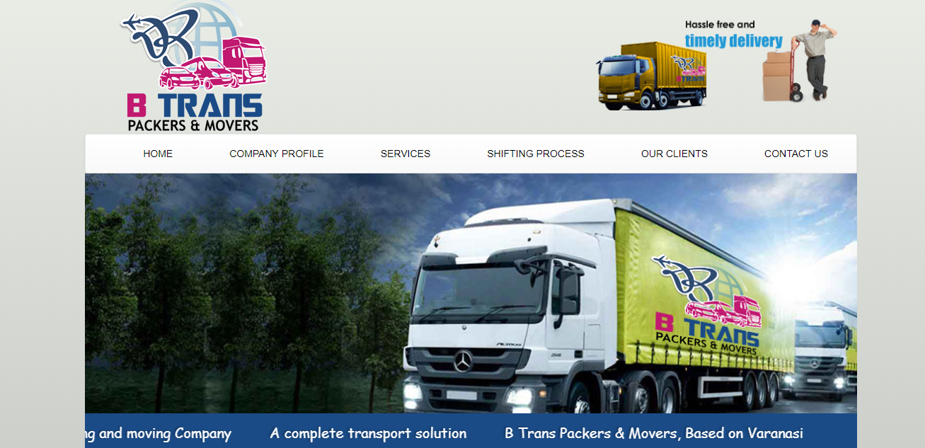 Btrans Packers And Movers