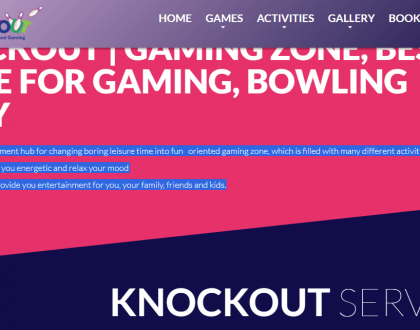 Knockout- Dining And Gaming